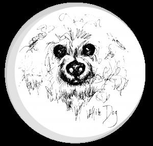 whitedogcircle